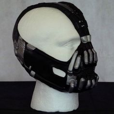 Bane Mask dark knight batman black edition by KingofMasks on Etsy, £21.00. Apparently, Carlos wants to be Bane for his birthday.
