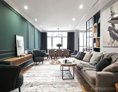 Scandinavian living place in Moscow, Russia. Living Place, Living Area, Apartment Interior, Apartment Design, Interior Design Living Room, Modern Interior, Neoclassical Interior, Piece A Vivre, Small Apartments