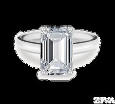 Emerald Cut Engagement Rings Are Celebrity Favorites   Ziva Jewels ...