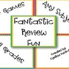 These 24 games can be used to take the place of worksheets, for study guide of a big test, to end a unit, etc.  The list goes on and on.  Use for c...