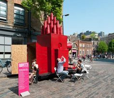Cool idea! Tiny Travelling Theatre by Aberrant Architecture