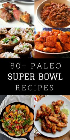Planning a Paleo Super Bowl get-together? Don't forget to have delicious food! Here's the Ultimate Paleo Super Bowl Recipes Round up to help you out!
