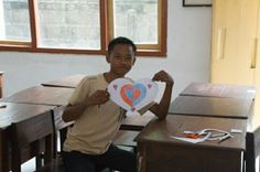 We heart you Komang, get well soon! Sincerley yours, your lovely students. #onelove