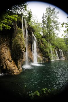 An absolute must-see in Croatia: the endless waterfalls at Plitvice Lakes…
