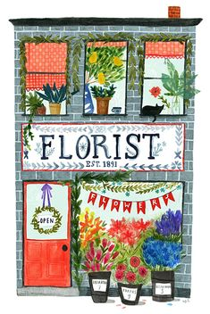 """The Florist"" by Abigail Halpin"