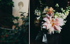 Fall dahlia bouquet | The Nouveau Romantics #pink #dahlia #bouquet #wedding
