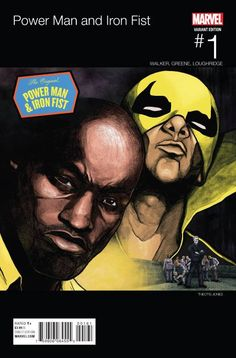 Luke Cage and Danny Rand — Marvel's original bromance — are back and coming at you in the highly anticipated POWER MAN AND IRON FIST Writer David Walker and artist Sanford Greene team up to bring. Comic Book Characters, Marvel Characters, Comic Books Art, Comic Art, Book Art, Luke Cage, Iron Fist Marvel, Walker Art, David Walker