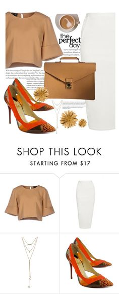 """""""the perfect day """" by cordelia-fortuna ❤ liked on Polyvore featuring The Fifth Label, Rick Owens, SUGARFIX by BaubleBar, Christian Louboutin and Louis Vuitton"""