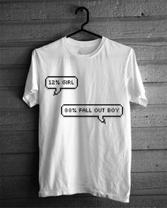 Rad Fall Out Boy Tshirt. ABOUT ME