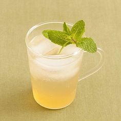 Honey-Green Tea Fizz | Break out your punch bowl, and mix up one of these festive drinks. These big-batch beverages—with and without alcohol—will keep you and your guests in high spirits. Holiday celebrations in the South are centered on food and drink. Southerners love an excuse to prepare a huge meal to fill the bellies of friends and family, alike. The holidays are the perfect time to do that! Aside from enjoying delicious food, we love tasty holiday punch recipes to add pizazz to an…