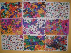 Nos productions en arts plastiques Ecole Art, Pre Writing, Arts And Crafts, Painting, Kids, Bold Stripes, Preschool Education, Day Planners, Art