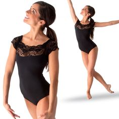 $37.50 Gaynor Minden Lace Leotard : GM-006 love this one too...don't know if I'd wear it though...