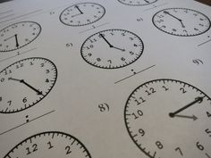 math worksheet : how about a little practice to work on telling time given a time  : Math Fact Cafe Multiplication Worksheets