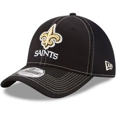 brand new 0cb7b e18af New Orleans Saints New Era Shock Stitch Neo 39THIRTY Flex Hat - Black. New  Orleans Saints HatsFlex Fit HatsHats OnlineNfl ShopBaseball HatsLogosYouthStitch  ...