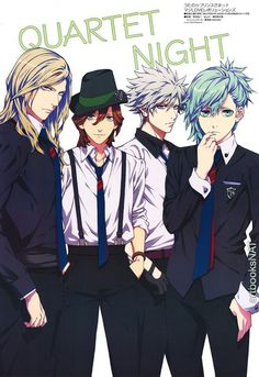 Quartet Night Ai Mikase the androidd is the most asdorlabe out of those four!!