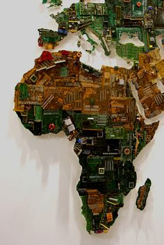 Motherboard world map!