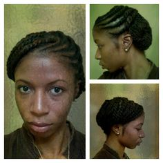 Just might attempt this for work! Cute natural yet professional style. <3
