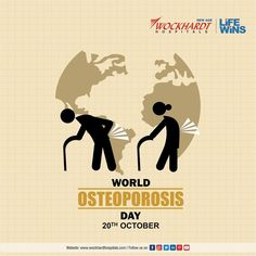 Osteoporosis is a condition where the bones become fragile and weak making one prone to fractures. It is commonly seen in women. Early diagnosis and treatment of osteoporosis can lead to better quality of life. Health Day, New Age, Bones, World, Life, Dice, Peace, Legs, The World