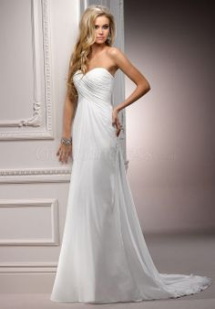 $179.69 Simple and pretty!   trendy Empire Sweetheart Lace-up Back Sweetheart Wedding Dress