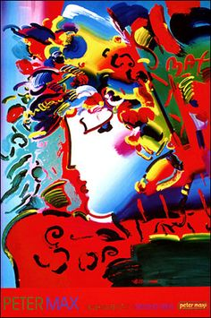 Blushing Beauty II by Peter Max