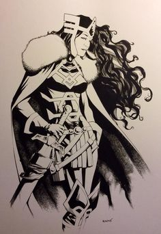 Lady Sif by Mike McKone *