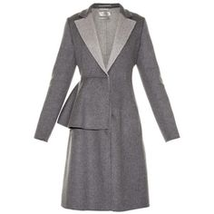 SPORTMAX Medardo coat ($3,975) ❤ liked on Polyvore