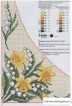 ru / Фото - - vira-pagut - My site Cross Stitch Boarders, Cross Stitch Flowers, Cross Stitch Charts, Cross Stitch Designs, Cross Stitching, Cross Stitch Embroidery, Embroidery Patterns, Cross Stitch Patterns, Easter Cross