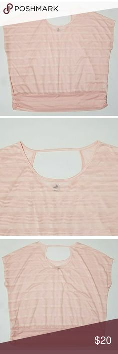 "Lane Bryant Pink Semi Sheer Blouse Women's Lane Bryant pink semi sheer blouse, size 18/20. It is in excellent used condition with no stains, tears, rips or holes that I can see.  100% polyester   Chest: 56"" Armpit to armpit: 28"" Shoulder to waist: 27"" Armpit to waist: 13.5""  All items come from a smoke and pet free home. Lane Bryant Tops Blouses"