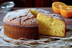 Torta Soffice all'Arancia - 180°C di Dolcezza