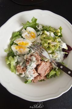 Healthy Salad Recipes, Healthy Snacks, Vegetarian Recipes, Healthy Eating, Cooking Recipes, Comida Keto, My Favorite Food, Food Inspiration, Good Food