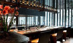 Chef's Table at The Restaurant | Luxury Swiss Hotel | The Chedi Andermatt Hotel Ski Resort Switzerland