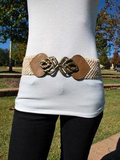 Crochet Accent Belt