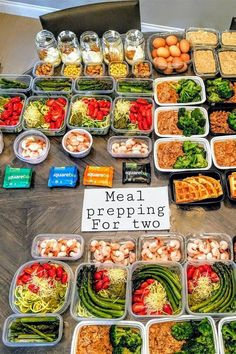 This Photo Might Make You Rethink Just How Much Food You Can Meal Prep
