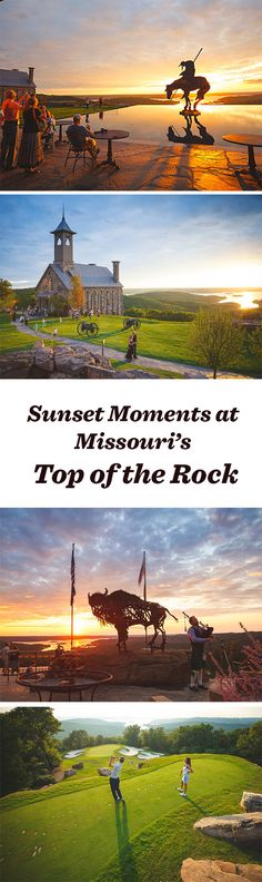 6 killer sunset moments at Top of the Rock near Branson, Missouri: http://www.midwestliving.com/blog/travel/6-killer-sunset-moments-at-top-of-the-rock/
