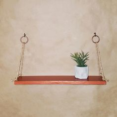 Gold Floating Shelves Alluring Gold Floating Reclaimed Wood Thin Swing Twine Rope Shelfshelving 2018