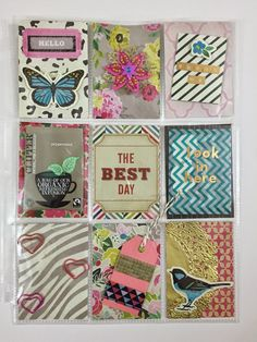 Mrs Crafty Adams: Pocket Letters #pocketletter #pocketletterpals Crate Paper On Trend