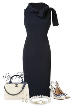 6/19/17 by longstem on Polyvore featuring Badgley Mischka, Blue Nile and Chanel