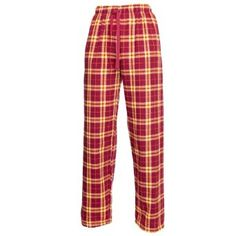 Boxercraft Maroon & Gold Flannel Tie Cord Pants for Sports, Lounging, Teams X-Large-Maroon/Gold Boxercraft. $21.00