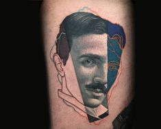 Dzikson Wildstyle pop art nikola tesla tattoo