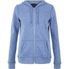 New Look Light Blue Basic Zip Up Hoodie ($22) ❤ liked on Polyvore featuring tops, hoodies, kingfisher blue, light blue hooded sweatshirt, blue hoodies, light blue hoodie, blue zip up hoodie and long sleeve tops