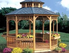 Marvelous 110 Gazebo Designs U0026 Ideas   Wood, Vinyl, Octagon, Rectangle And More  (Photos) | Gardens, The Two And Pavilion