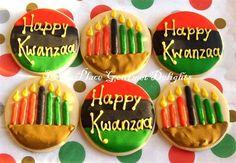 my kwaanza cookies! my kwaanza cookies! Christmas Cupcakes, Holiday Cookies, Happy Kwanzaa, Kwanzaa 2016, National Cupcake Day, African Christmas, Christmas Tree Decorations, Christmas Trees, Holidays With Kids