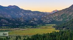 Sunrise at Leavitt Meadow by Jeff Turner on 500px