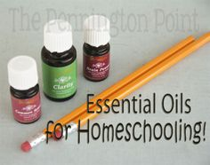 What oils are great for helping with focus and concentration in your school!  -- The Pennington Point