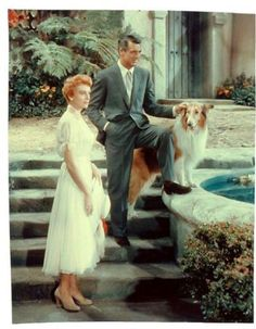 Deborah Kerr and Cary Grant, 'An Affair to Remember'.....Uploaded By www.1stand2ndtimearound.etsy.com