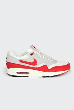 newest 41a70 c3223 GOOD AS GOLD — Air Max 1 OG, university redgreyblack (