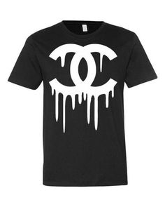 Hey, I found this really awesome Etsy listing at https://www.etsy.com/listing/468737049/dripping-chanel-tee