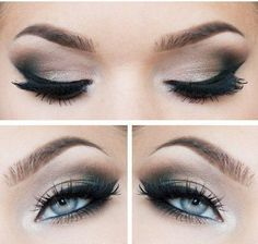 Here are 12 pretty and easy tutorials for ideas for prom makeup for blue eyes. Description from polyvore.com. I searched for this on bing.com/images