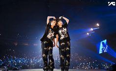 2NE1's Park Bom Spotted in the Philippines With Sandara Park via @soompi
