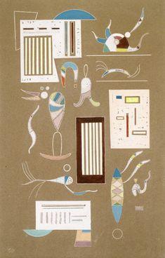 Wassily Kandinsky - Untitled, 1940